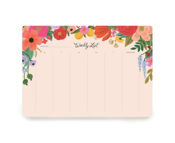 Garden Party Weekly Deskpad