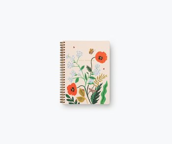 Poppy Botanical spiralbunden anteckningsbok