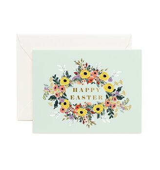 Easter Garden kort med kuvert