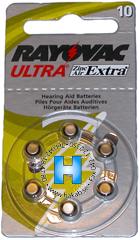 Rayovac hörselbatteri 10