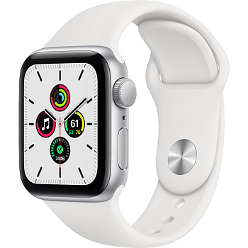 Apple Watch SE 40mm Aluminium white