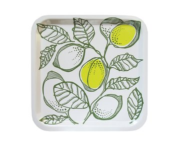 Tray LEMON LEAF  Olive & lemon