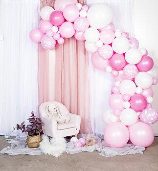 Kit Ballongbåge - Baby Rosa