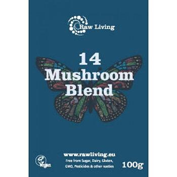 14 Mushroom Blend powder 100g