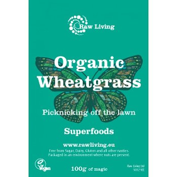 Wheatgrass powder (Triticum aestivum) - Organic 100g