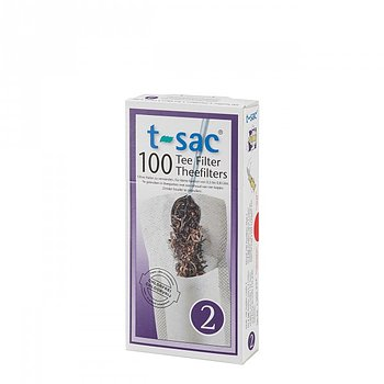 T-sac Disposable Tea Filters Size 1-4 - 100pcs