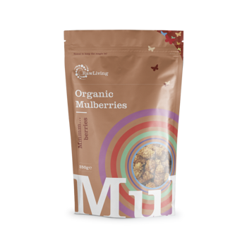 Mulberries  (Morus sp.) - Organic & Raw 250g