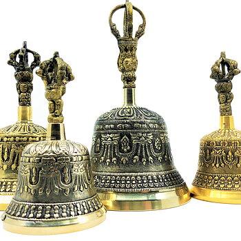 Tibetan Ceremony Bell - Premium