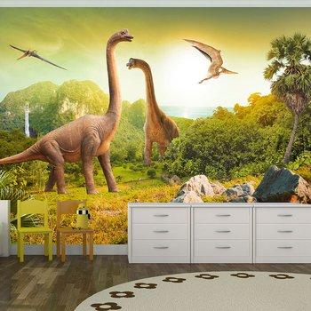 Fototapet - Dinosaurier