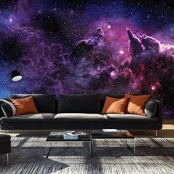 Fototapet - Lila Nebulosa