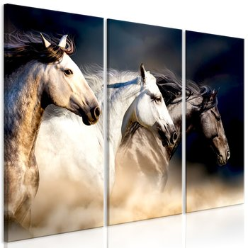 Tavla - Canvastavla - Hästar i frihet