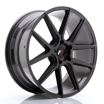 Japan Racing JR30 21x9 ET20-40 Custom Hyper Gray