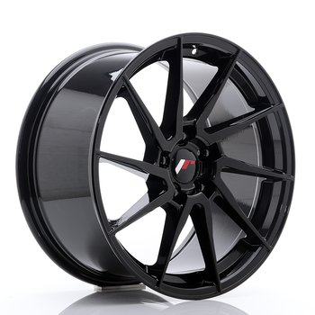 Japan Racing JR36 18x9 ET45 5x114.3 Glossy Black