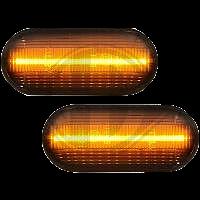 Blinkers LED - Designblinkers mörktonade
