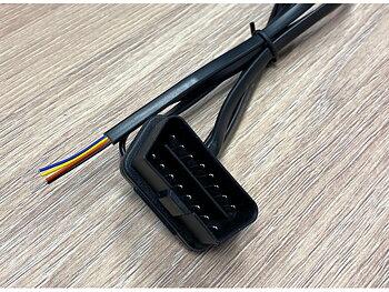 OBD-kabel med lösa kabeländar till H-CAN