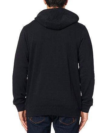 """Fox """"Legacy foxhead"""" svart hoodie"""