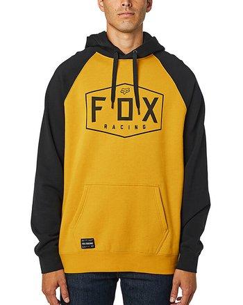 "Fox ""Crest"" gul hoodie"