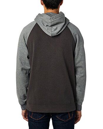"Fox ""Non stop raglan"" smoke hoodie"