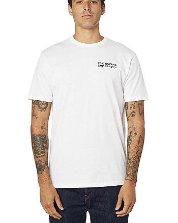 "Fox ""Death wish ss premium"" vit t-shirt"