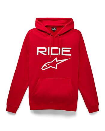 Alpinestars Freeride Men/'s Hoodie Hoody Fleece Motorcycle Motorbike Red