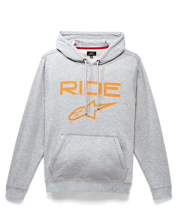 "Alpinestars ""Ride 2.0"" grå/orange hoodie"