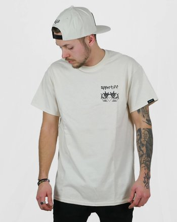 "Appertiff ""X AW"" natural t-shirt"