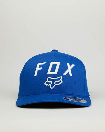 "Fox ""Legacy moth 110"" blå snapback keps"