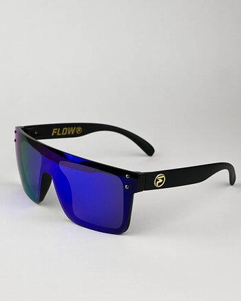"FLOW ""Evade"" blå polariserade solglasögon"