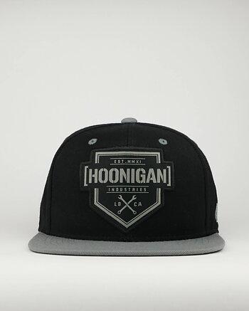 "Hoonigan ""Bracket x"" snapback keps"