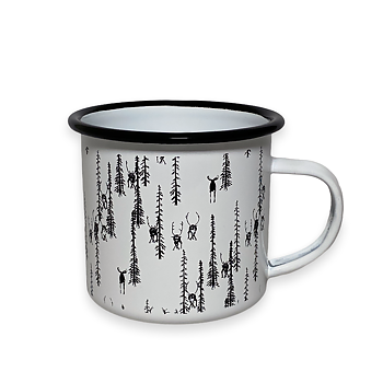 Mug - Reindeer in the forest