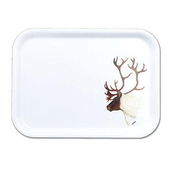 Rectangular tray - 27x20 cm - Reindeer - Boazu - Sara