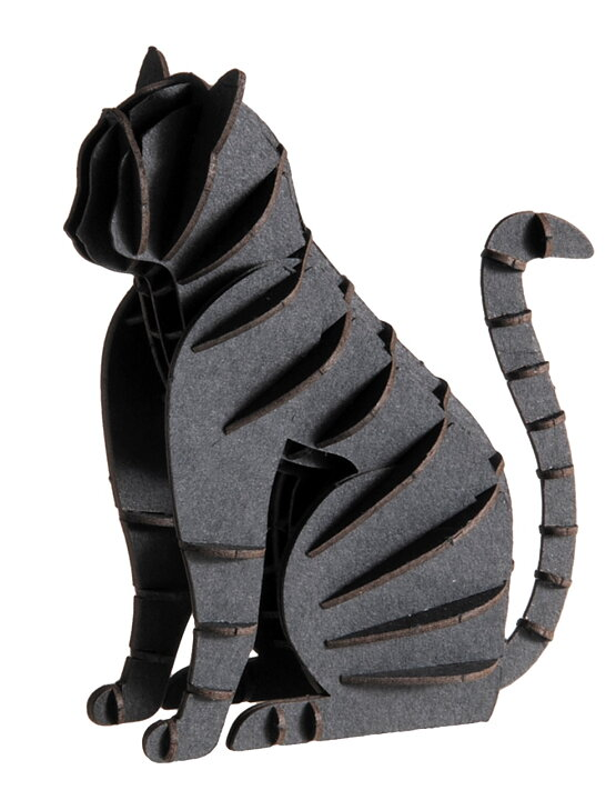 3D-pappersmodell, Svart katt
