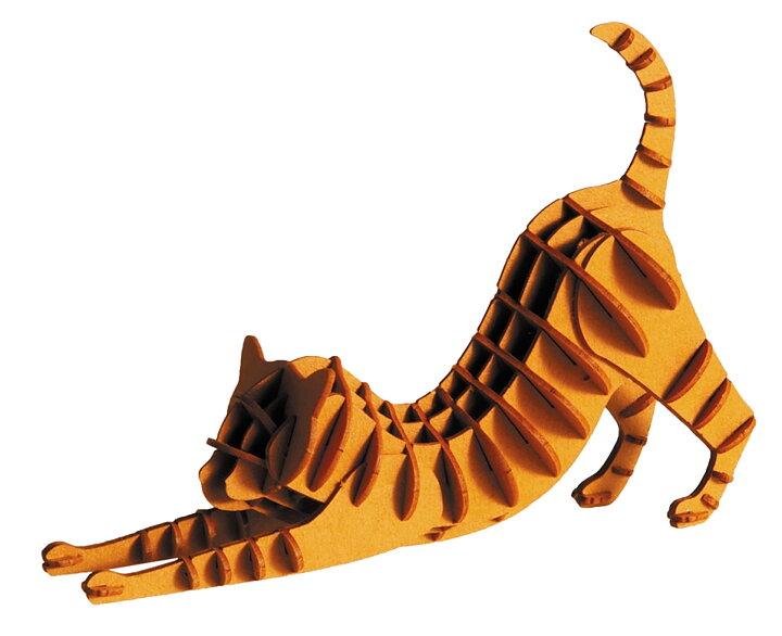 3D-pappersmodell, Rödbrun katt