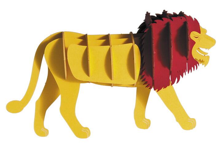 3D-pappersmodell, Lejon
