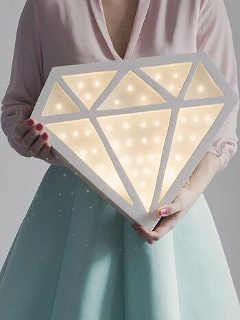 "LAMPA/NATTLAMPA ""DIAMOND"""