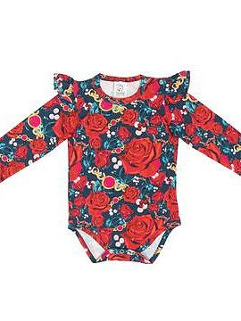 "BODY MED VOLANGER ""RED ROSES"""