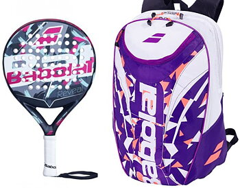 BABOLAT REVEAL + PADEL BACKPACK