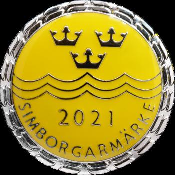 Simborgarmärke 2021
