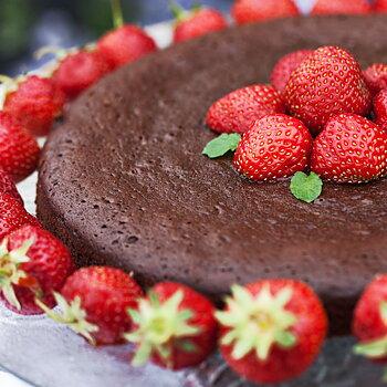 Kladdkaka med Gourmetchoklad & Panela socker