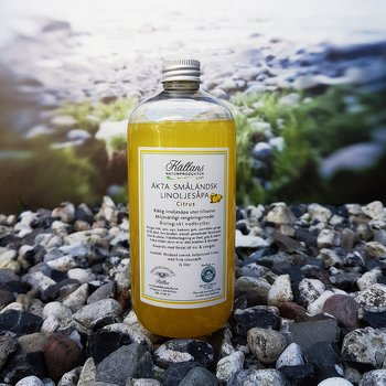 Linoljesåpa Citrus, 0,5 liter