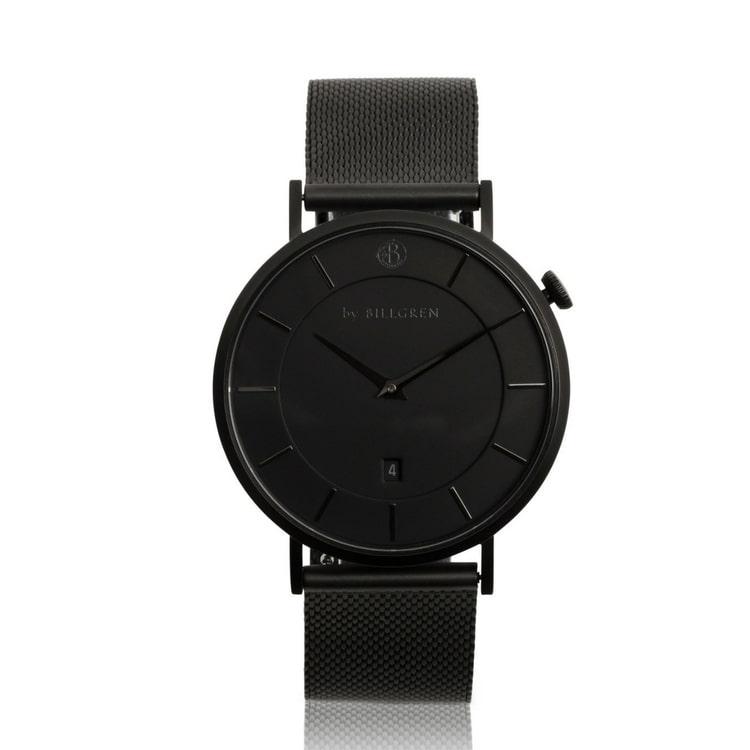 Klocka - By Billgren - svart/svart