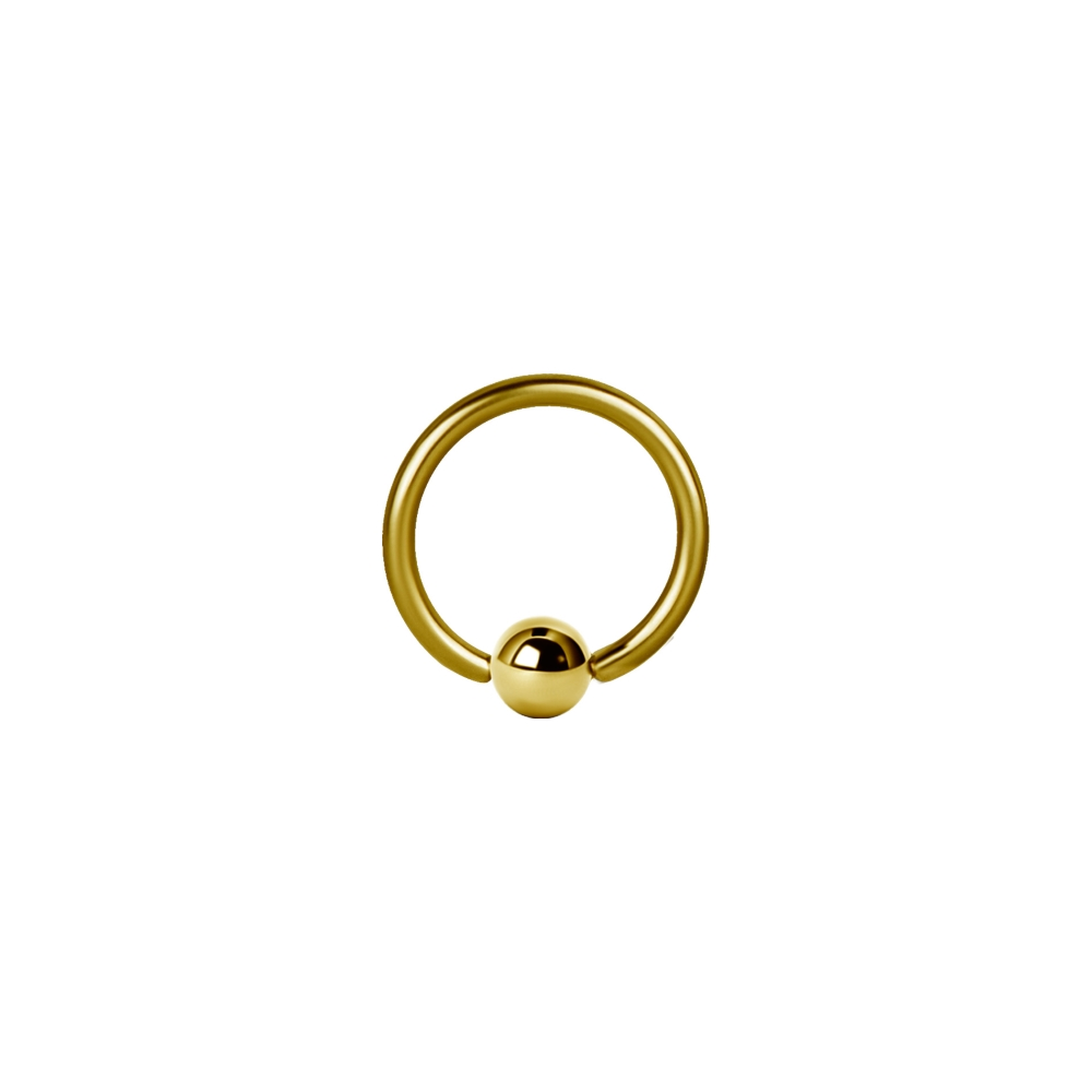 Ball Closure Ring - 1,6 mm -4 mm - Guld