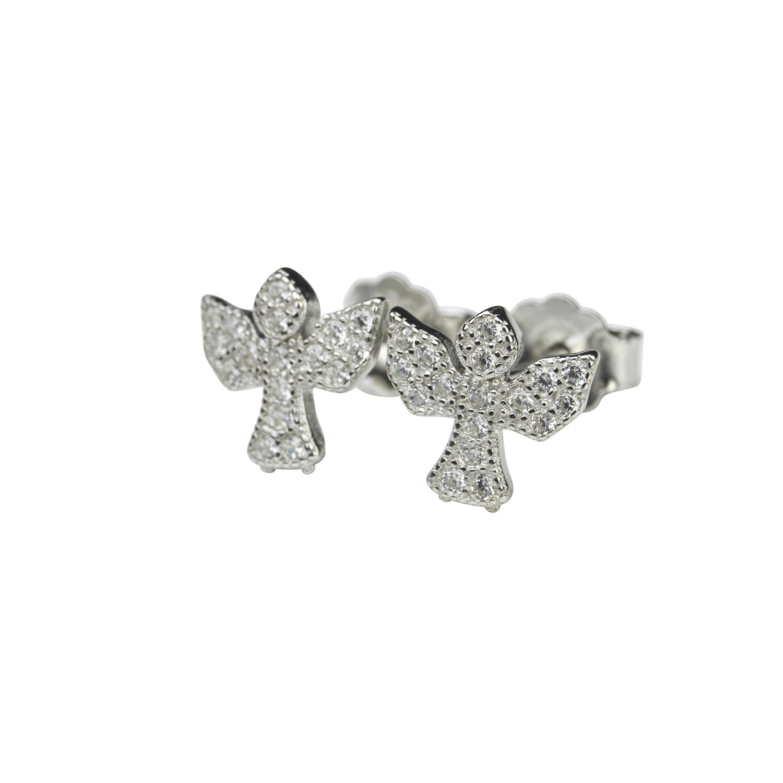 Silverörhänge - Ängel