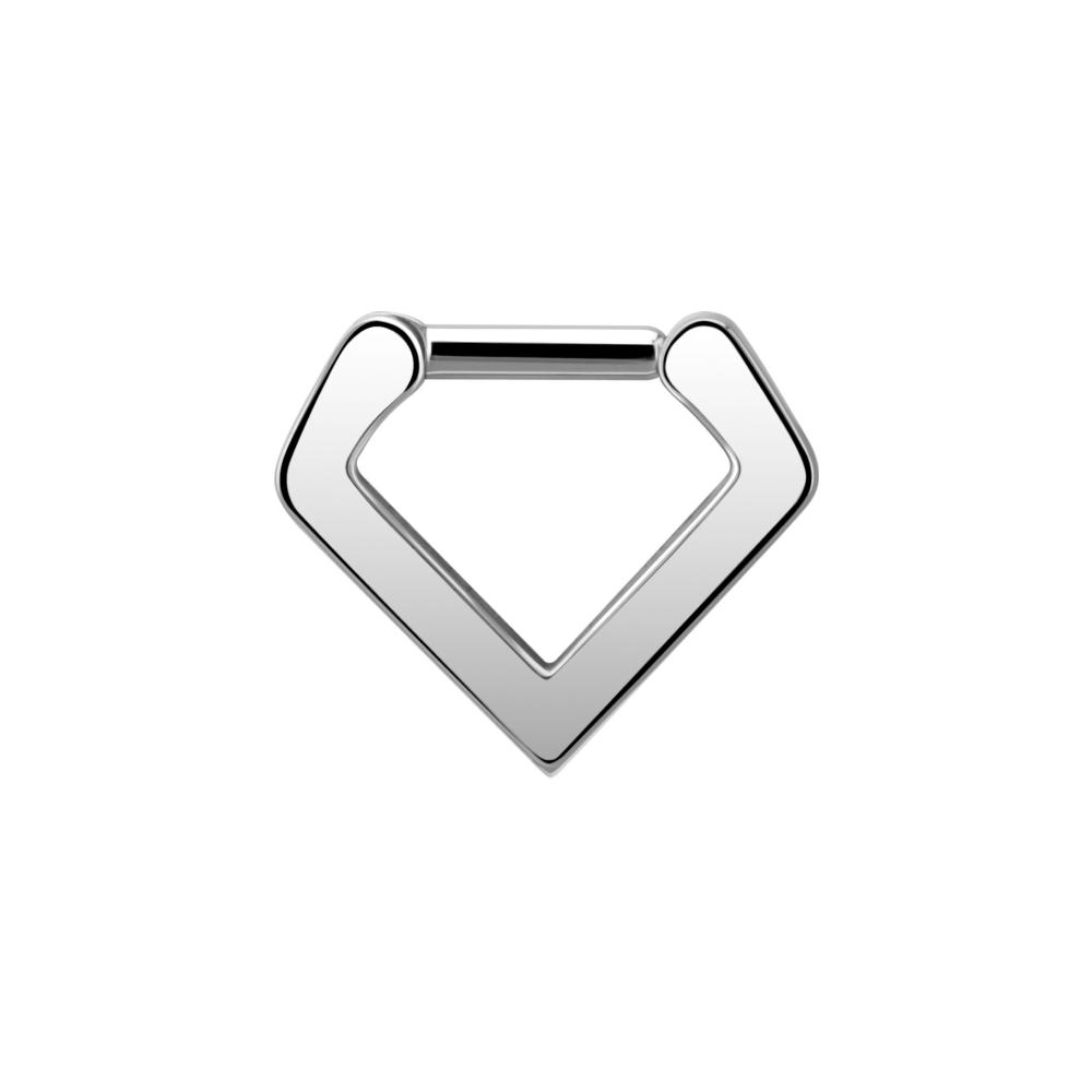 Clicker - triangel - 1,2 mm - stål