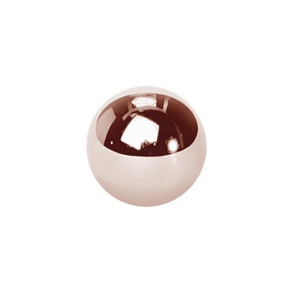 Balls - 1,6 mm - 4, 5 & 6 mm - Roséguld