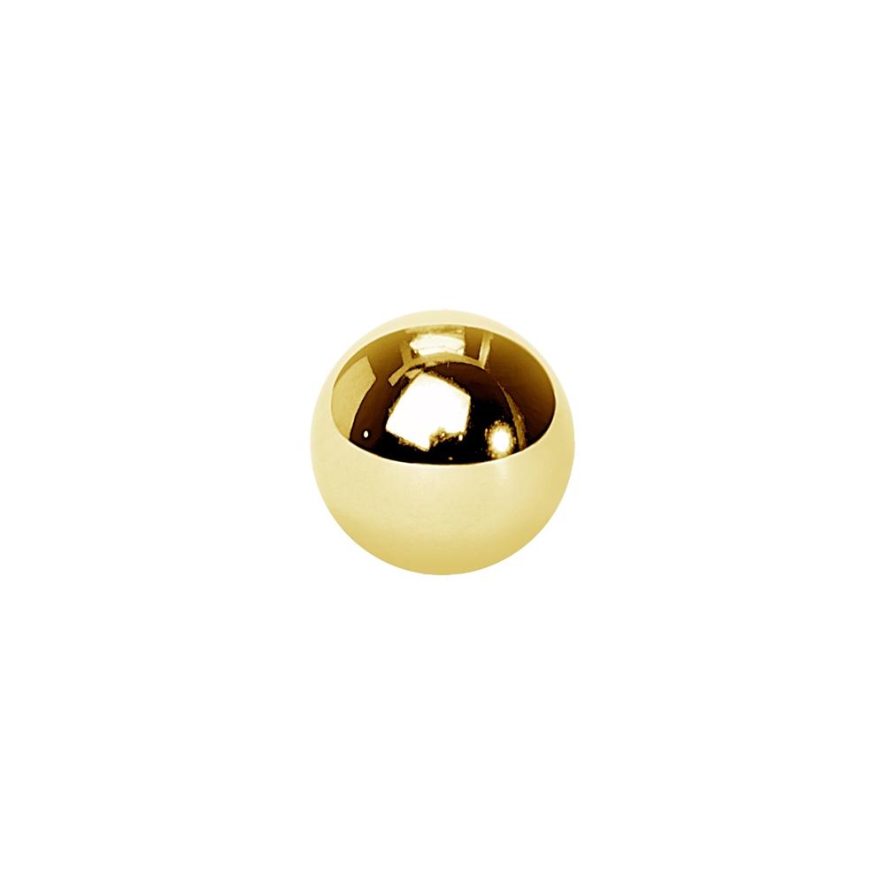 Extrakulor - 1,2 mm - 3 & 4 mm - Guld