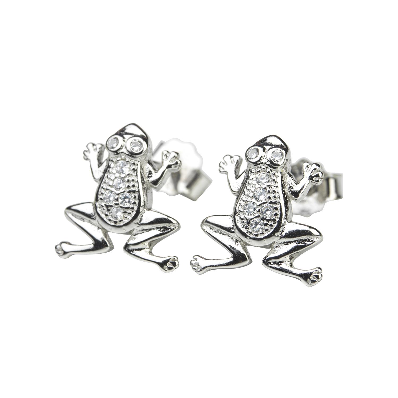Silverörhänge - grodor