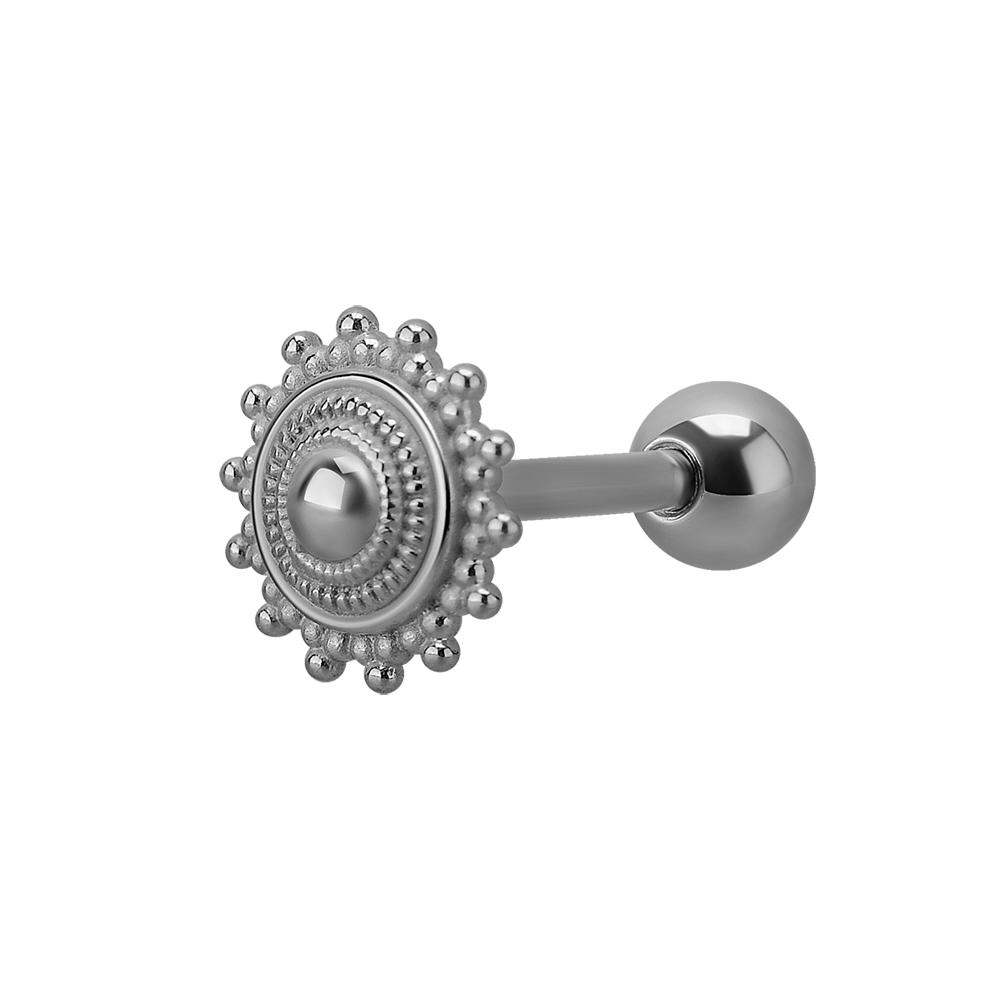 Piercingsmycke till tunga - stål