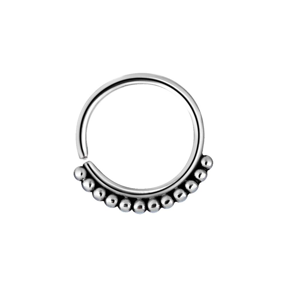 Ring - tribalring - 1,2 x 10 mm - kirurgiskt stål