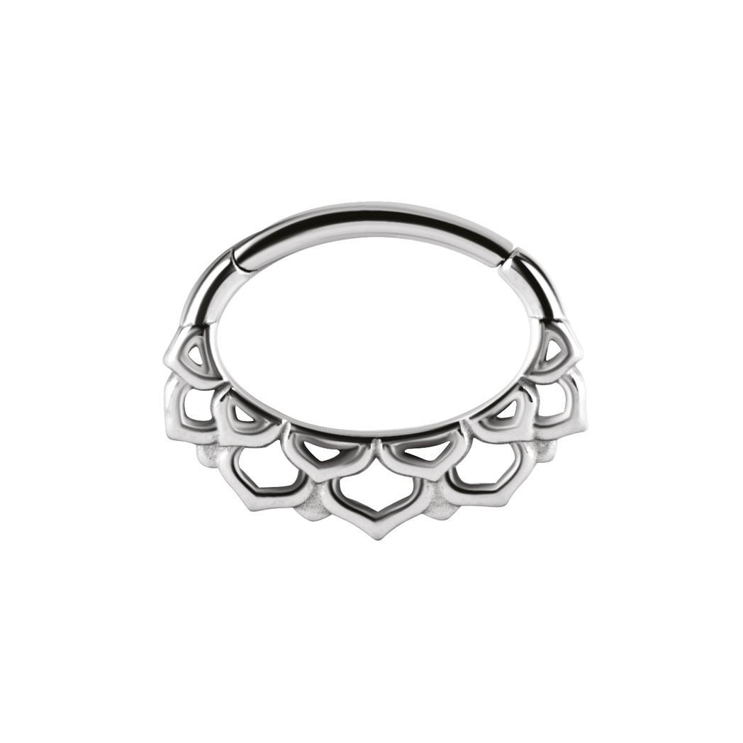 Clicker vackert mönster - 1,2 mm - kirurgiskt stål